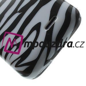 Gélové puzdro pre HTC Desire 310- zebrované - 5