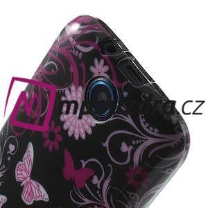 Gélové puzdro na HTC Desire 310- motýlci - 5
