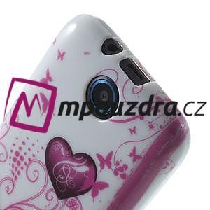 Gélové puzdro na HTC Desire 310- dvě srdce - 5