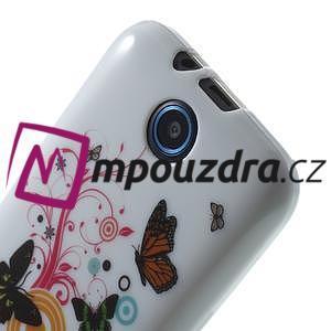 Gélové puzdro na HTC Desire 310- farebné motýlci - 5