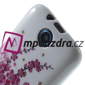 Gélové puzdro pre HTC Desire 310- kvitnúca vetva - 5