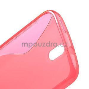 Gélové puzdro pre HTC Desire 500- růžové - 5