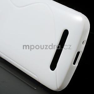 Gélové puzdro pre HTC Desire 500- biele - 5