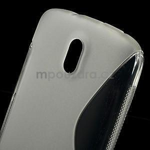 Gélové puzdro pre HTC Desire 500- transparentný - 5