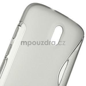 Gélové puzdro pre HTC Desire 500- šedé - 5