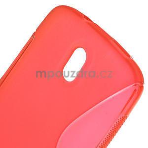 Gélové puzdro pre HTC Desire 500- červené - 5
