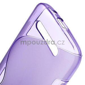 Gélové puzdro pre HTC Desire 500- fialové - 5