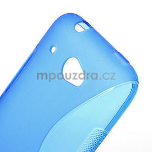 Gelove S-line puzdro pre HTC Desire 601- modré - 5