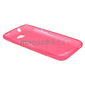 Gelove S-line puzdro pre HTC Desire 601- růžové - 5