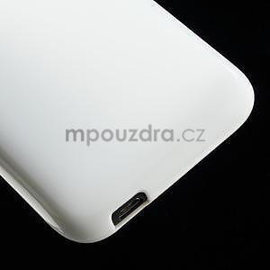 Gélové puzdro pre HTC Desire 601- biele - 5