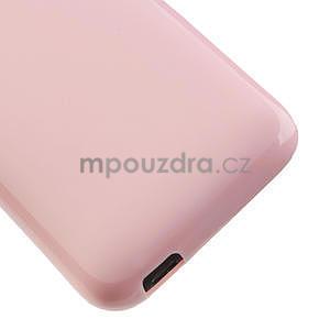 Gélové puzdro pre HTC Desire 601- růžové - 5