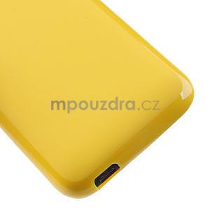 Gélové puzdro pre HTC Desire 601- žlté - 5