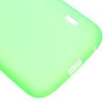 Matné gélové puzdro pre LG Optimus L5 Dual E455- zelené - 5/6
