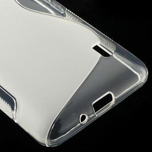 Gélové S-line puzdro na LG Optimus F6 D505- transparentný - 5