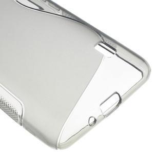 Gélové S-line puzdro na LG Optimus F6 D505- šedé - 5