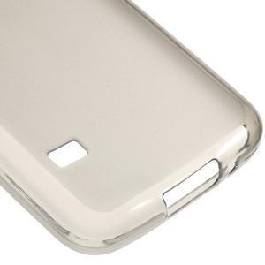 Gelové matné pouzdro na Samsung Galaxy S5 mini G-800- šedé - 5