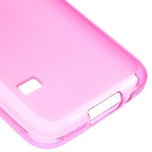 Gelové matné pouzdro na Samsung Galaxy S5 mini G-800- růžové - 5