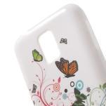 Gélové puzdro na Samsung Galaxy S5 mini G-800- motýli - 5/5