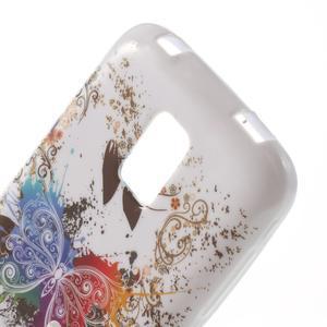 Gélové puzdro pre Samsung Galaxy S5 mini G-800- farebný motýl - 5