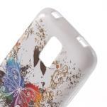 Gélové puzdro pre Samsung Galaxy S5 mini G-800- farebný motýl - 5/5