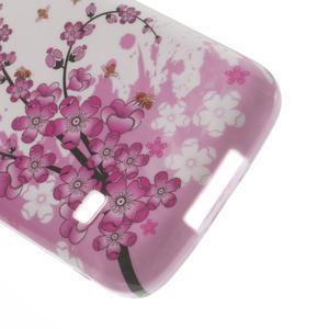 Gelové pouzdro na Samsung Galaxy S5 mini G-800- kvetoucí větvička - 5