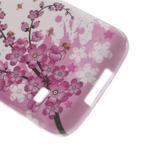 Gelové pouzdro na Samsung Galaxy S5 mini G-800- kvetoucí větvička - 4/4