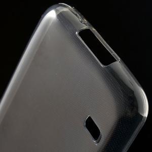Gelové 0.6mm pouzdro na Samsung Galaxy S5 mini G-800- šedé - 5