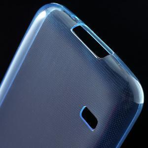 Gelové 0.6mm pouzdro na Samsung Galaxy S5 mini G-800- modré - 5