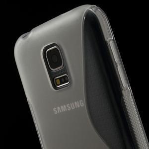 Gélové S-line puzdro pre Samsung Galaxy S5 mini G-800- transparentný - 5