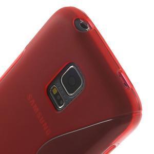Gélové S-line puzdro pre Samsung Galaxy S5 mini G-800- červené - 5
