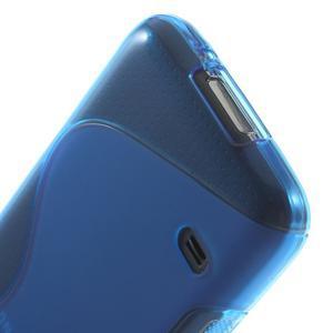 Gélové S-line puzdro pre Samsung Galaxy S5 mini G-800- modré - 5