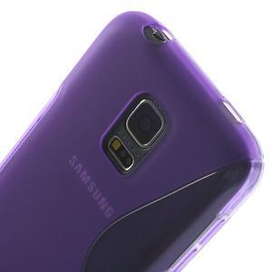 Gelové S-line pouzdro na Samsung Galaxy S5 mini G-800- fialové - 5