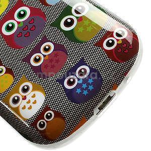 Gélové puzdro pre Samsung Galaxy S3 mini / i8190 - mini Sovy - 5