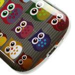 Gélové puzdro pre Samsung Galaxy S3 mini / i8190 - mini Sovy - 5/5