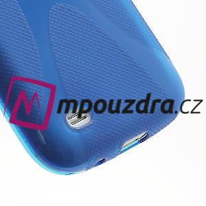 Gelové X pouzdro pro Samsung Galaxy S4 mini i9190- modré - 5