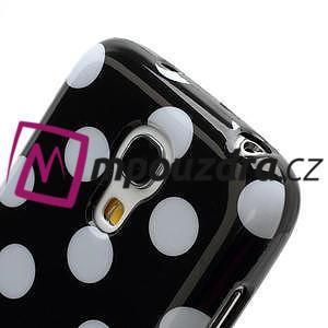 Gélový Puntík pro Samsung Galaxy S4 mini i9190- čierne - 5