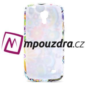 Gélové puzdro pro Samsung Galaxy S4 mini i9190- farebné kvety - 5