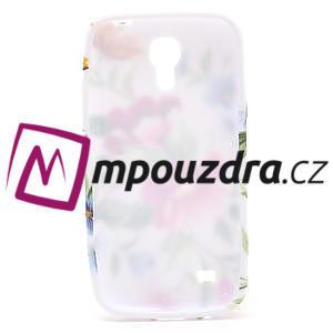 Gélové puzdro pro Samsung Galaxy S4 mini i9190- kvetinka - 5