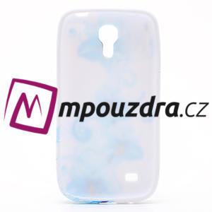 Gélové puzdro pro Samsung Galaxy S4 mini i9190- modrá lilie - 5