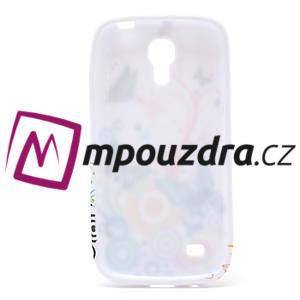 Gelové pouzdro pro Samsung Galaxy S4 mini i9190- kruhový motýl - 5