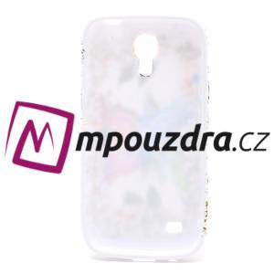 Gélové puzdro pro Samsung Galaxy S4 mini i9190- farebný motýl - 5
