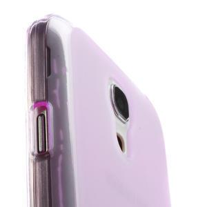 Gélové puzdro na Samsung Galaxy S4 mini i9190- fialové - 5