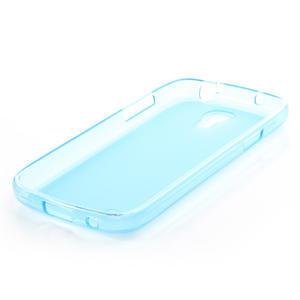 Gélové puzdro na Samsung Galaxy S4 mini i9190- modré - 5
