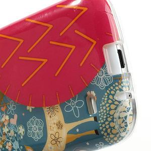 Gelové pouzdro na Samsung Galaxy S4 mini i9190- sova červená - 5