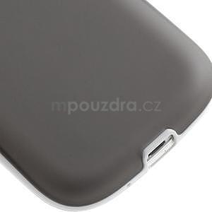 Gélové rámované puzdro pre Samsung Galaxy S3 i9300- šedé - 5