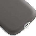 Gélové rámované puzdro pre Samsung Galaxy S3 i9300- šedé - 5/7