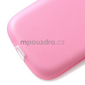 Gélové rámované puzdro pre Samsung Galaxy S3 i9300- ružové - 5