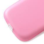 Gélové rámované puzdro pre Samsung Galaxy S3 i9300- ružové - 5/6