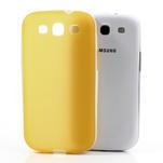 Gélové rámované puzdro pre Samsung Galaxy S3 i9300- žlté - 5/6