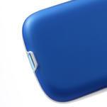 Gelové rámované pouzdro na Samsung Galaxy S3 i9300- modré - 5/6